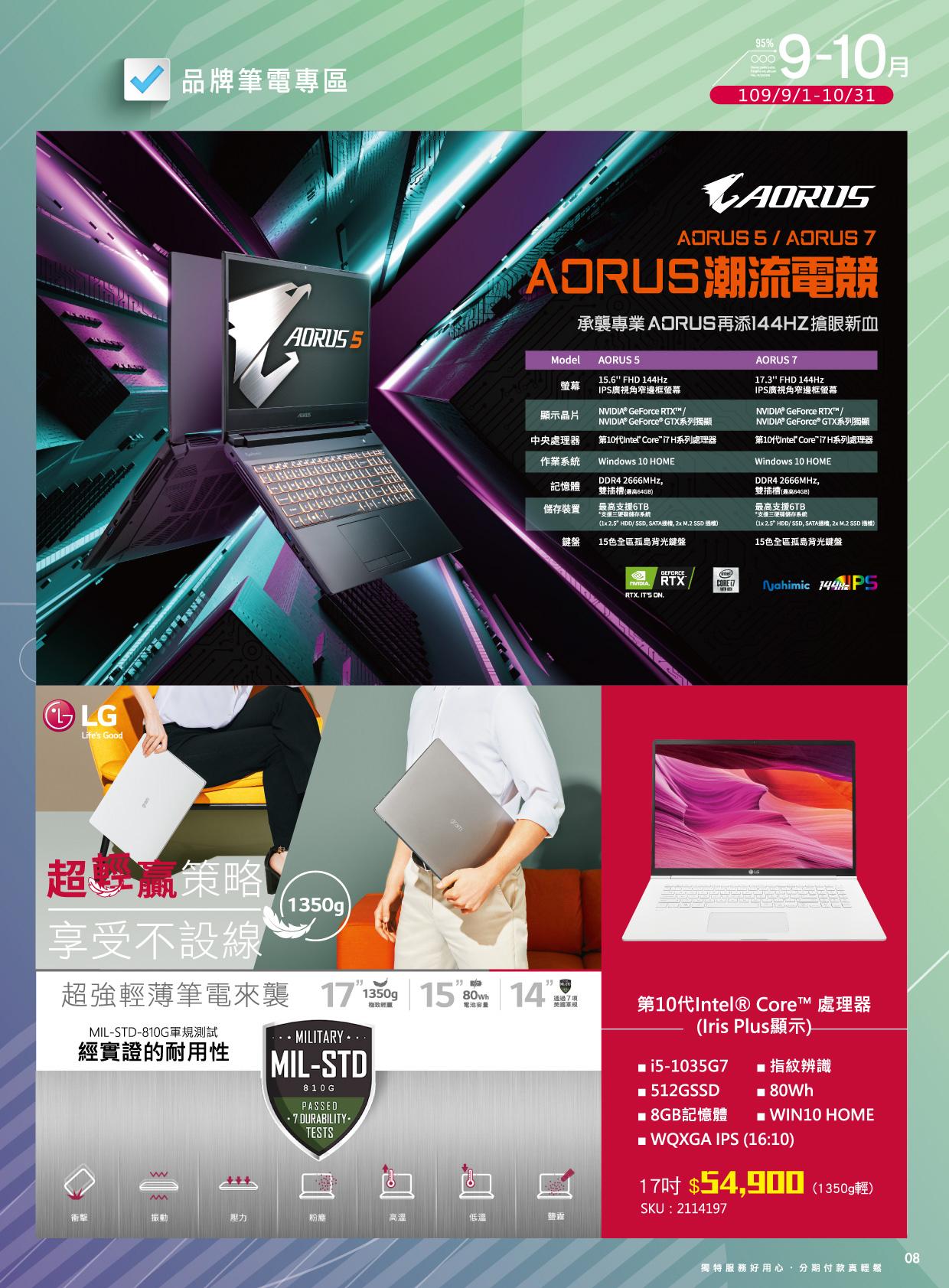 全國電子 X 當期資訊商品優惠DM 8